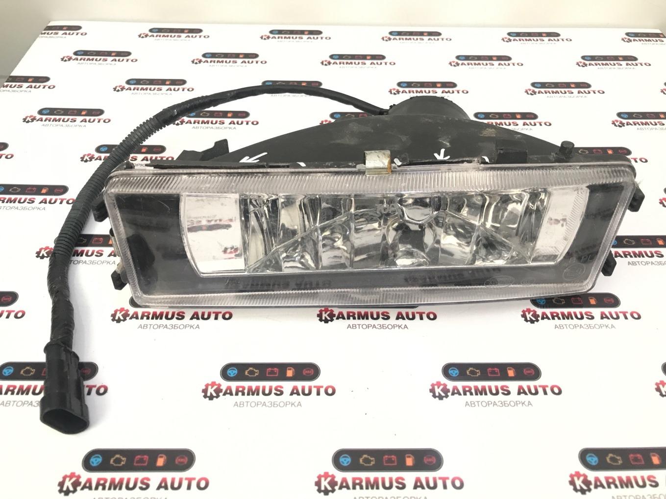 Фара противотуманная Shaanxi Shacman F2000 левая