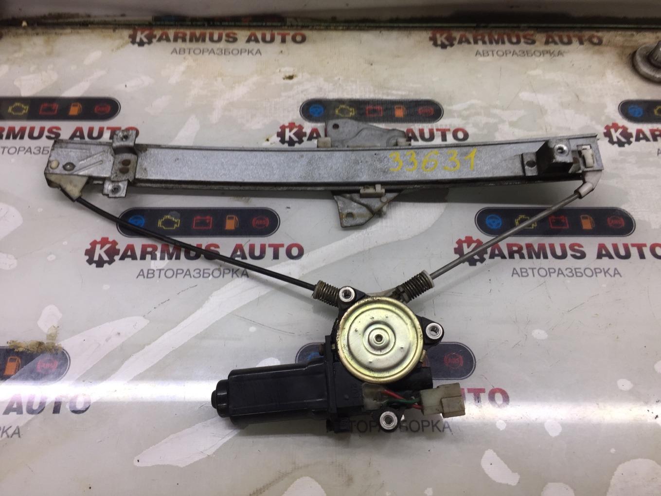Стеклоподъемный механизм Mitsubishi Pajero V44W 4D56 задний правый