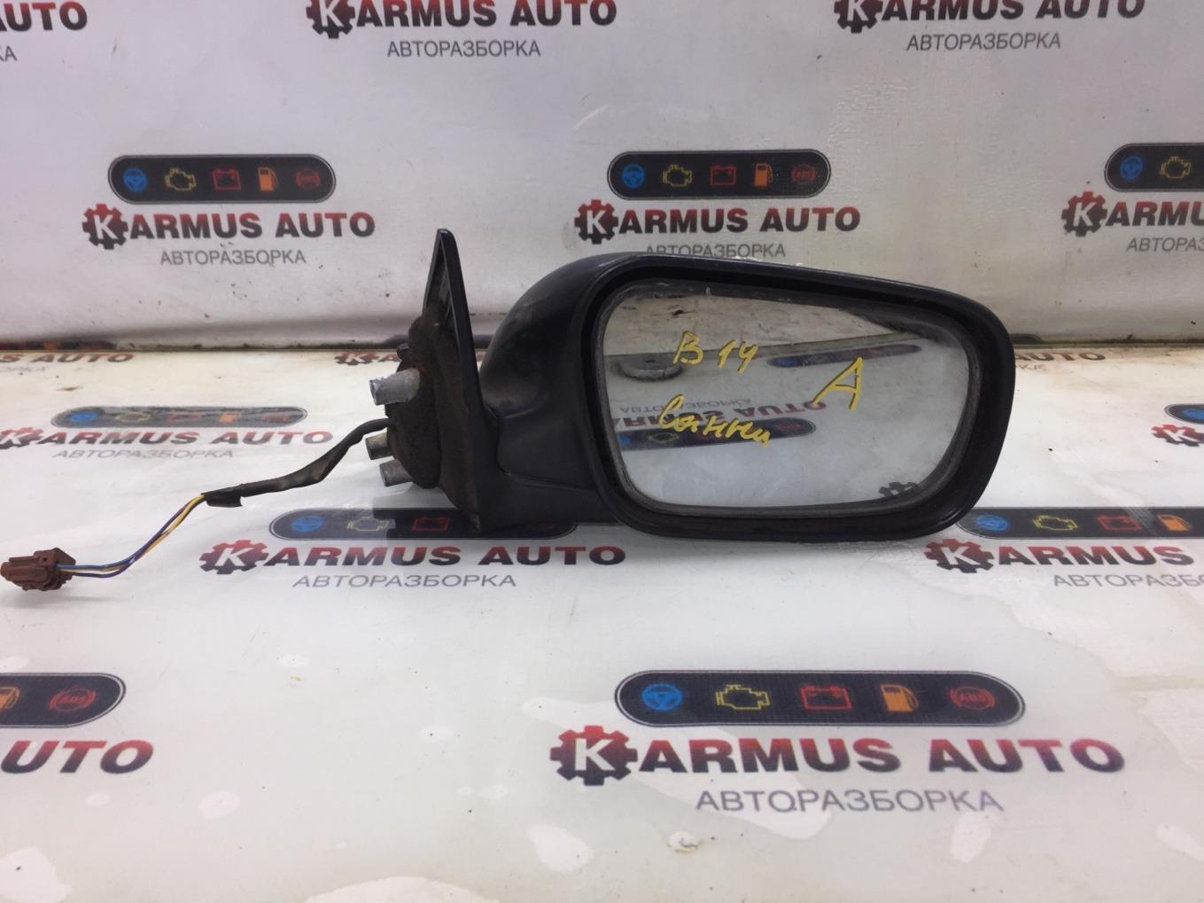 Зеркало заднего вида Nissan Sunny B14 GA13DE правое