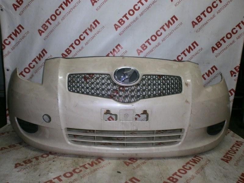 Бампер Toyota Vitz NCP95, KSP90, NCP91, SCP90 1KR 2005 передний