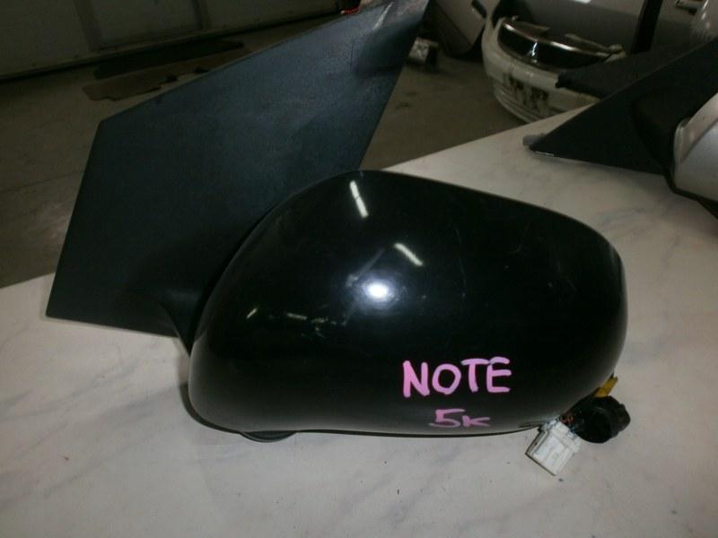 Зеркало Nissan Note ZE11, E11, NE11 2006 левое
