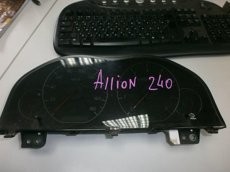 Панель приборов Toyota Allion AZT240, NZT240, ZZT245, ZZT240 1AZ 2003