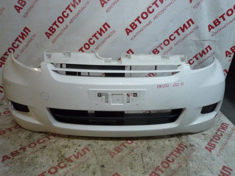 Бампер Toyota Passo KGC10, KGC15, QNC10 2007 передний