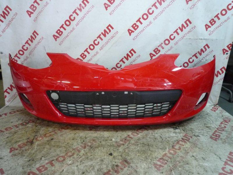 Бампер Mazda Demio DE3AS, DE3FS, DE5FS, DEJFS ZY 2007 передний