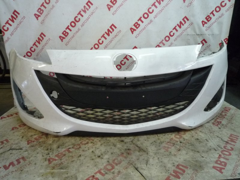 Бампер Mazda 5 CWEAW, CWEFW, CWFFW 2010-2018 передний