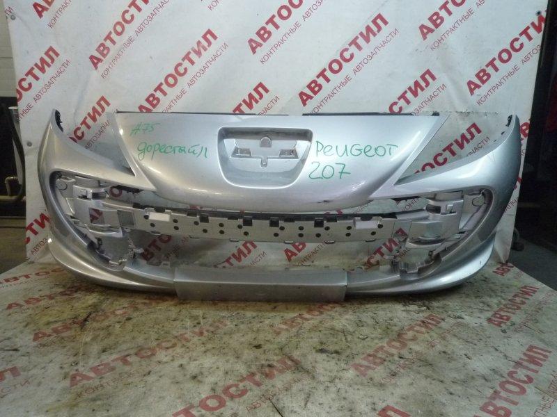 Бампер Peugeot 207 WA, WC, WB 03.2006 - 06.2009 передний