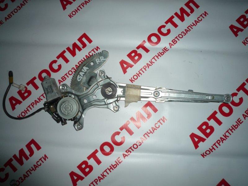 Стеклоподъемник Toyota Gaia SXM15G, CXM10G, ACM10G, ACM15G,SXM10G 2001 задний правый