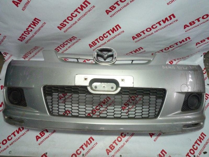 Бампер Mazda Demio DY3R, DY3W, DY5R, DY5W ZJ 2006 передний