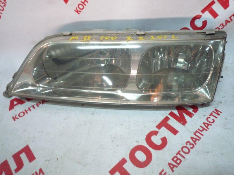 Фара Toyota Markii GX100, GX105, JZX100, JZX101, JZX105, SX100, LX100 1996 левая