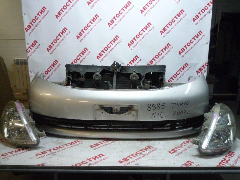 Бампер Toyota Isis ZNM10G, ZNM10W, ANM10G, ANM10W, ANM15G, ANM15W,ZGM10G, ZGM10W, ZGM11G, ZGM11W, ZGM15G, ZGM15W 1AZ 2007 передний