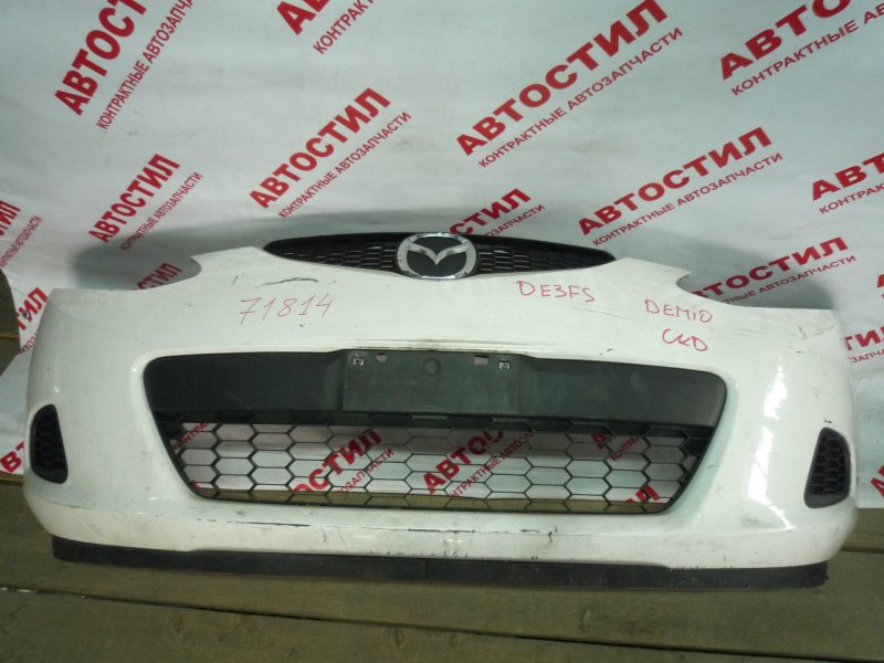 Бампер Mazda Demio DE3AS, DE3FS, DE5FS, DEJFS ZY 2008 передний