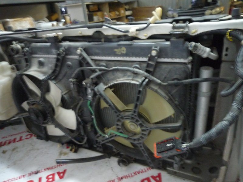 Радиатор основной Honda Fit Aria GD6, GD7, GD8, GD9 L15A 2006