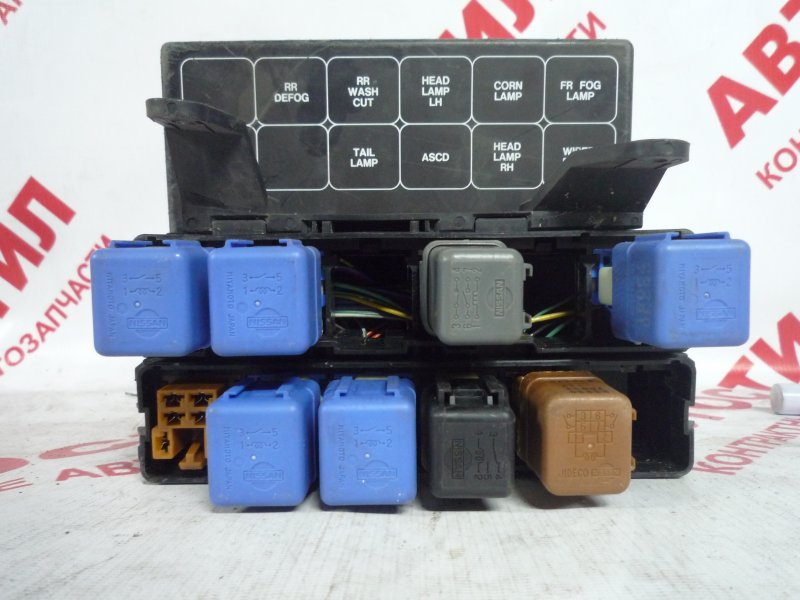 Блок предохранителей Nissan Cefiro A32, HA32, PA32,WA32, WHA32, WPA32 1997