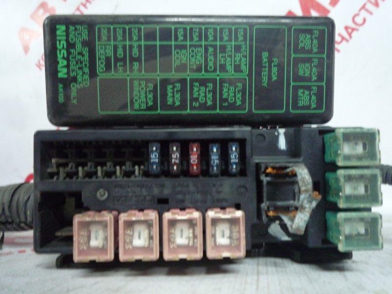 Блок предохранителей Nissan Bluebird ENU14, HNU14, HU14, QU14, SU14 2000