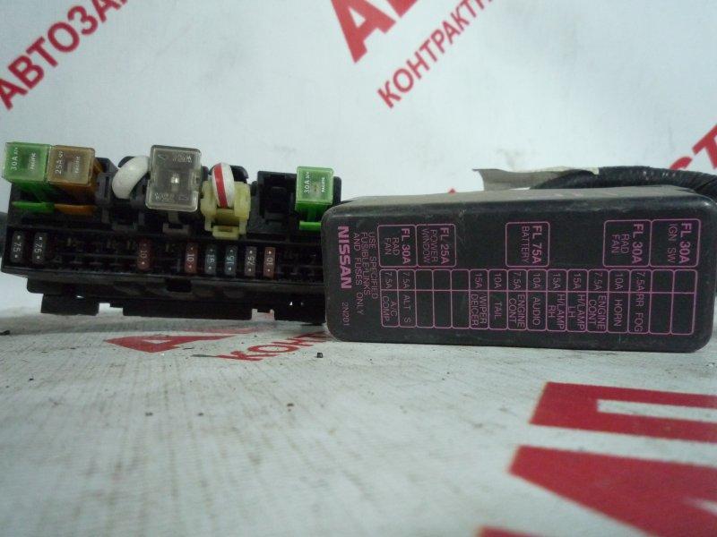 Блок предохранителей Nissan Pulsar EN15, FN15, FNN15, HN15, JN15, SN15, SNN15 2000
