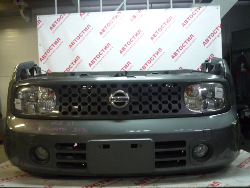 Бампер Nissan Cube BNZ11, BZ11, YZ11 2008 передний