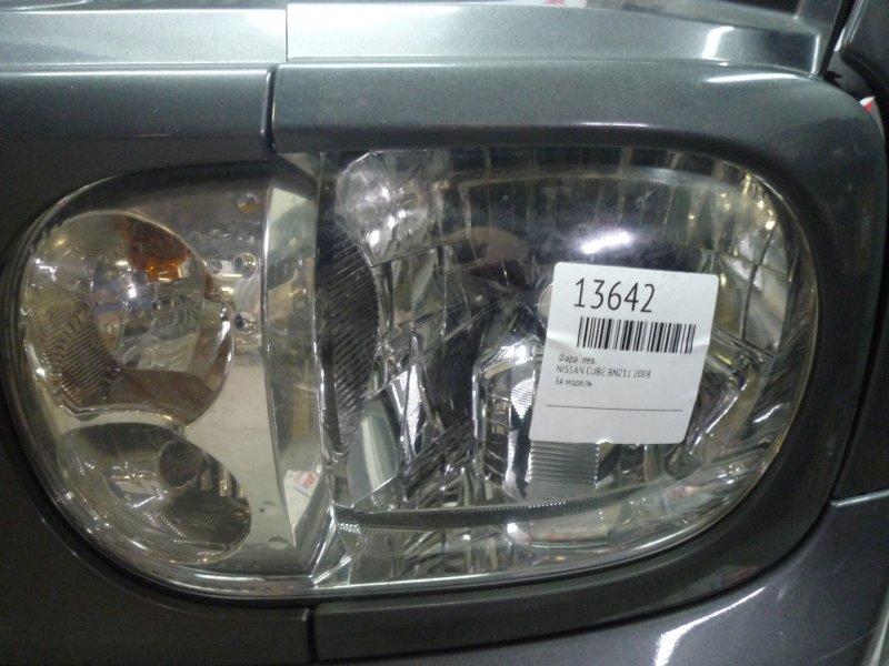 Фара Nissan Cube BNZ11, BZ11, YZ11 2008 левая