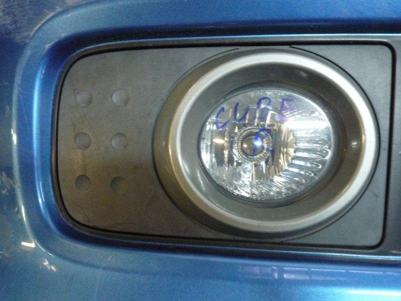 Туманка Nissan Cube BNZ11, BZ11, YZ11 CR14 2005 правая