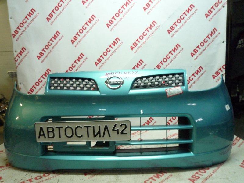 Бампер Nissan Moco MG22S K6A 2007 передний