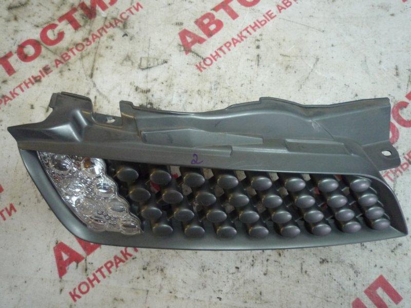 Решетка радиатора Nissan March AK12, BNK12, YK12 CR12 2007 правая