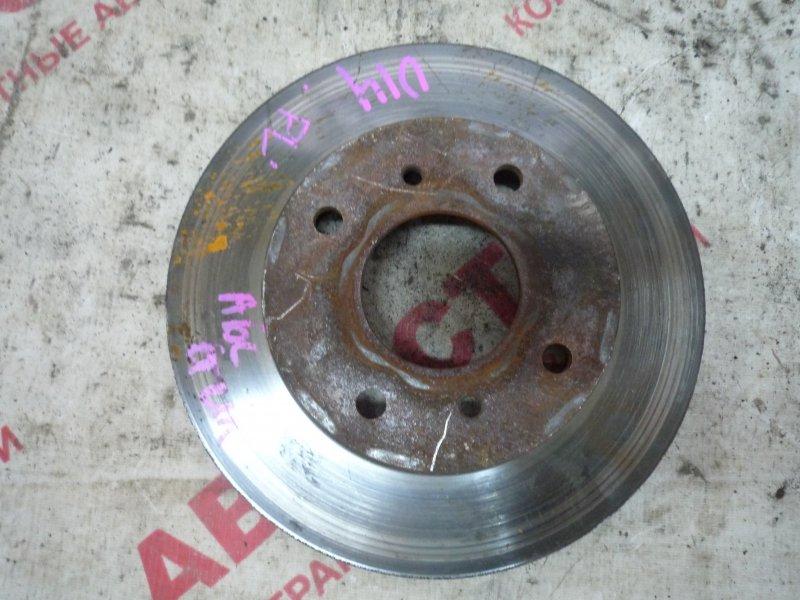 Тормозной диск Nissan Bluebird ENU14, HNU14, HU14, QU14, SU14,EU14 SR20 2001 передний