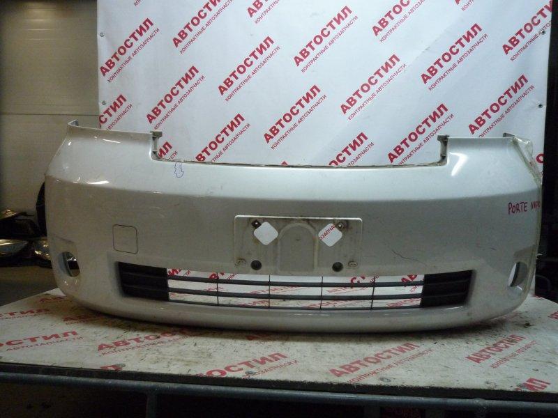 Бампер Toyota Porte NNP10, NNP11, NNP15 1NZ 2004-2005 передний