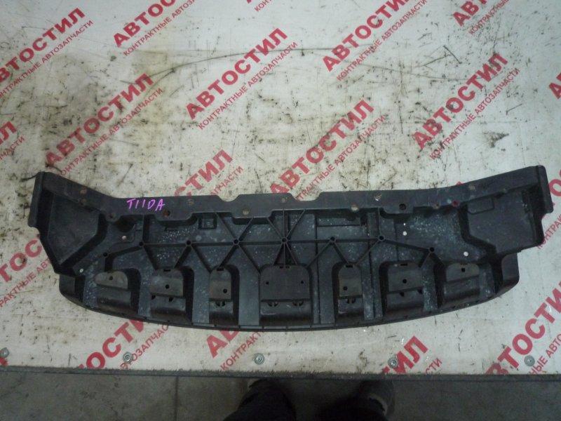 Защита двс пластик Nissan Tiida JC11, C11, NC11,SC11, SJC11, SNC11 HR15 2005 передняя