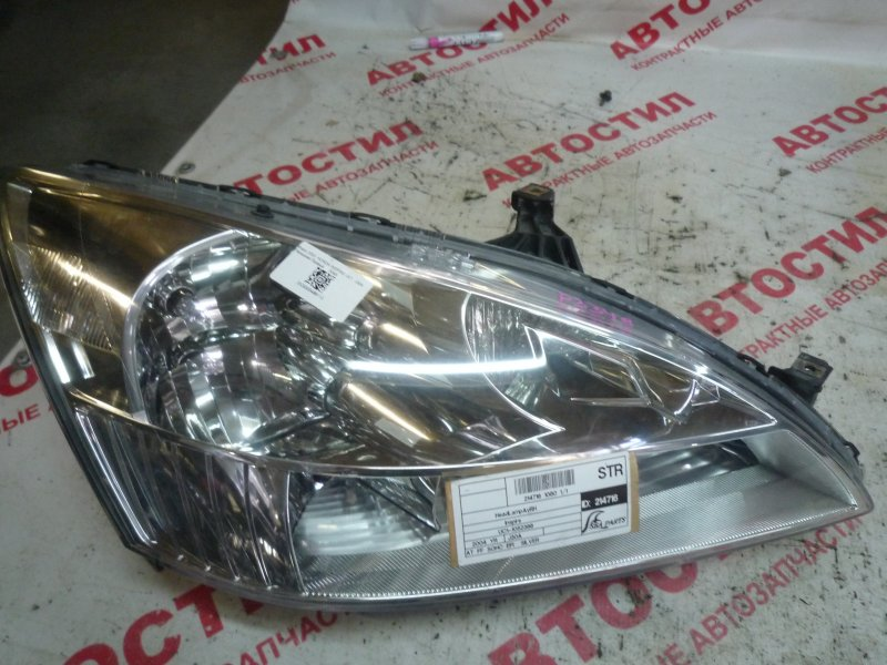 Фара Honda Inspire UC1 J30A 2005 правая
