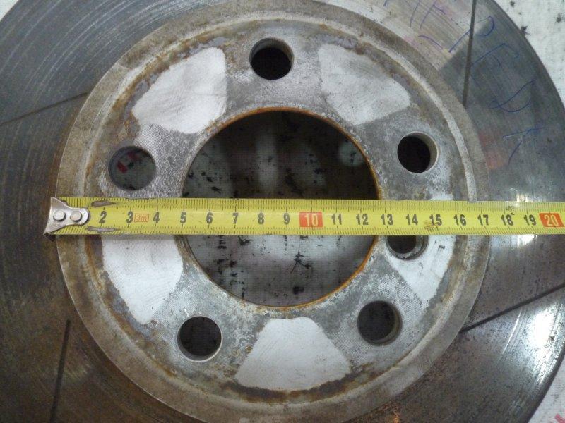 Тормозной диск Bmw 7-Series E65 N62B44 2003 передний