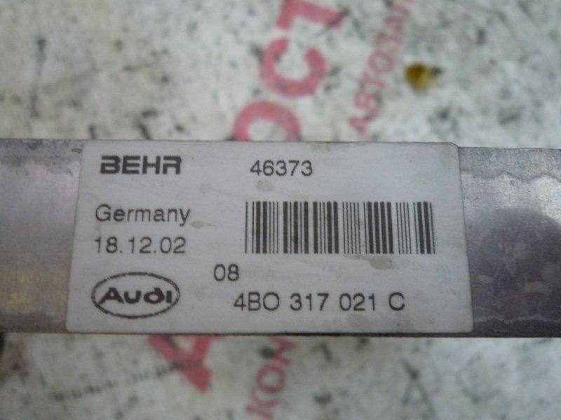 Радиатор акпп Audi A6 Allroad C5 BES 2003