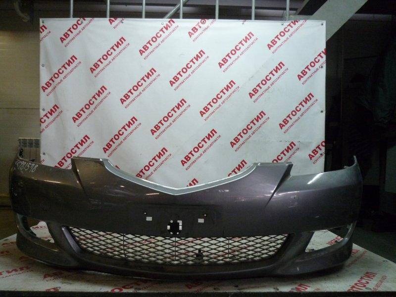 Бампер Mazda Axela BK3P, BKEP, BK5P LF 2005 передний