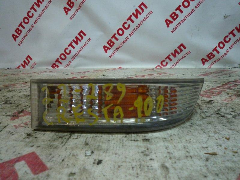 Повторитель бамперный Toyota Cresta GX100, GX105, JZX100, JZX101, JZX105, LX100 1G 2000 левый
