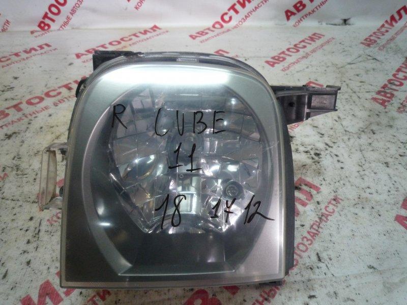 Фара Nissan Cube BZ11, BNZ11, BZ11 CR14 2003 правая