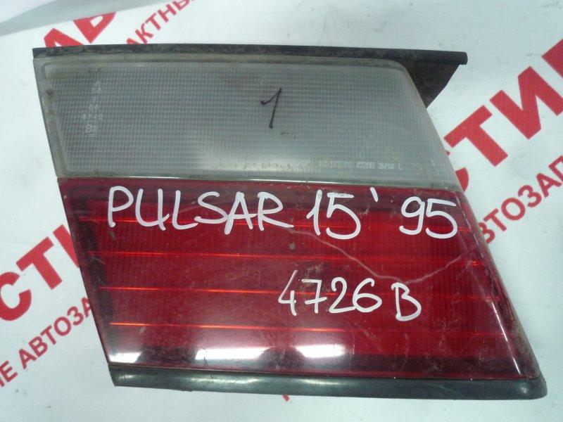 Вставка багажника Nissan Pulsar EN15, FN15, FNN15, HN15, JN15, SN15, SNN15 GA15 1997 левая