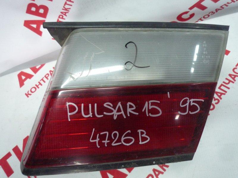 Вставка багажника Nissan Pulsar EN15, FN15, FNN15, HN15, JN15, SN15, SNN15 GA15 1997 правая