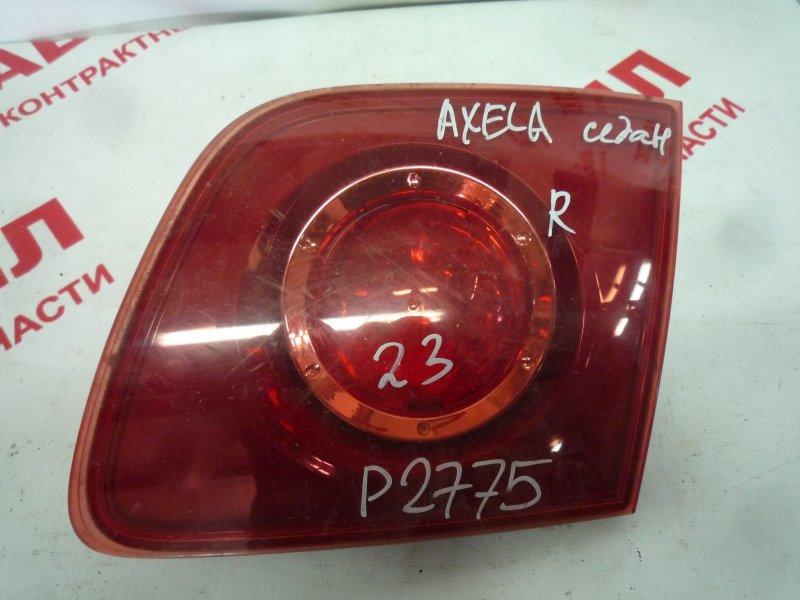 Вставка багажника Mazda Axela BK3P, BKEP, BK5P LF 2004 правая