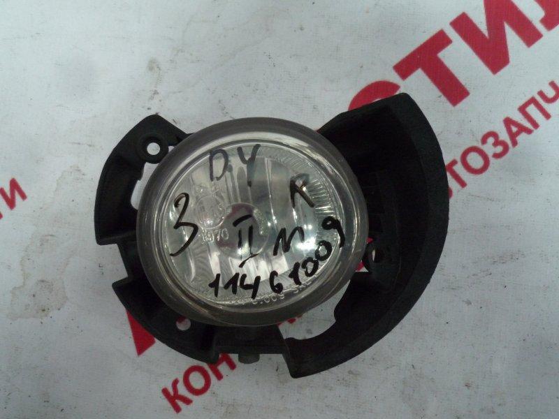 Туманка Mazda Demio DY3R, DY3W, DY5R, DY5W ZY 2006 правая