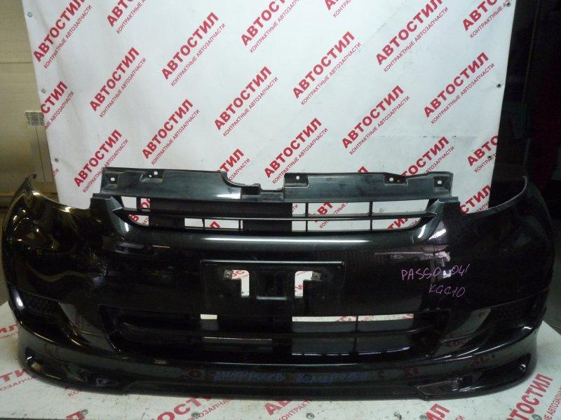 Бампер Toyota Passo KGC10, KGC15,QNC10 1KR 2008 передний