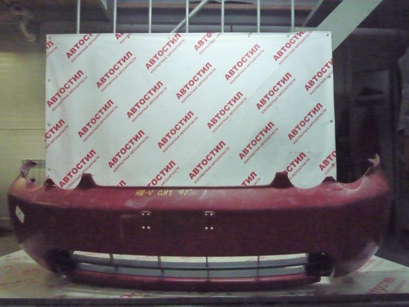 Бампер Honda Hrv GH1, GH2, GH3, GH4 D16A 1998 передний