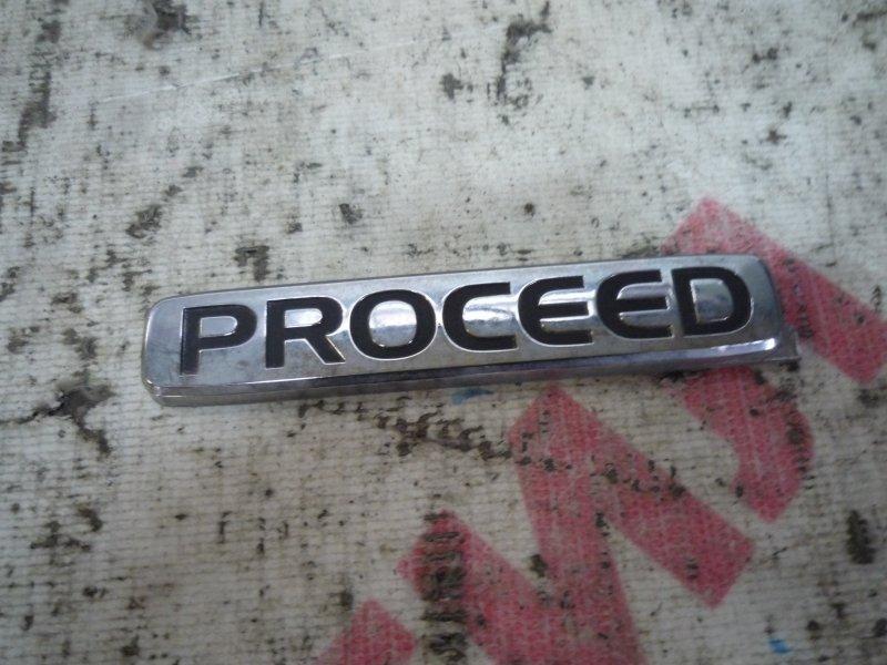 Эмблема Mazda Proceed Levante TJ51W, TJ61W, TJ31W J20A 1996