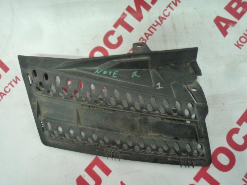 Решетка радиатора Nissan Note ZE11, E11, NE11 HR15 2005 правая