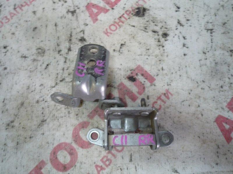 Петля дверная Nissan Tiida JC11, C11, NC11,SC11, SJC11, SNC11 HR15 2005 задняя правая