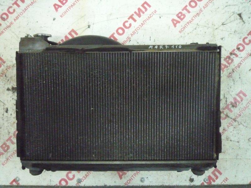 Радиатор основной Toyota Markii JZX110, GX110, GX115, JZX110, JZX115 1G 2003