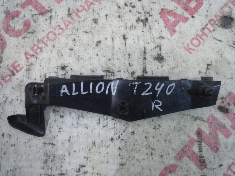 Крепление бампера Toyota Allion NZT240, ZZT240, ZZT245, AZT240 1AZ 2003 переднее правое