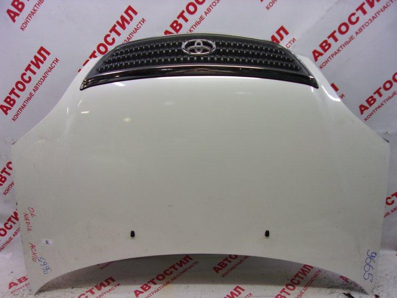 Капот Toyota Nadia SXN15, SXN15H, ACN10, ACN10H, ACN15, ACN15H 3S 2002