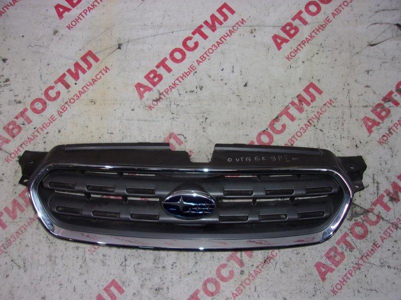 Решетка радиатора Subaru Outback BP9,BPE EJ25 2003
