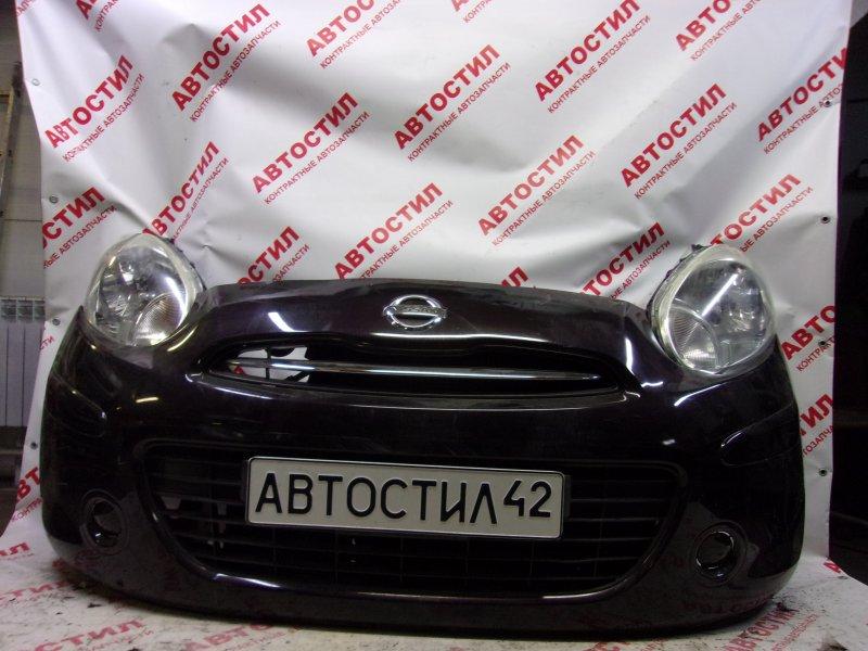 Nose cut Nissan March K13, NK13 HR12 2010-2013