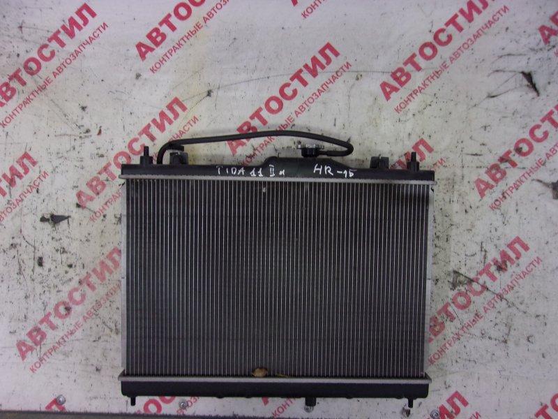 Радиатор основной Nissan Tiida JC11, C11, NC11,SC11, SJC11, SNC11 HR15 2009