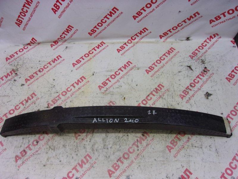 Пенопласт в бампер Toyota Allion NZT240, ZZT240, ZZT245, AZT240 1ZZ 2003 передний