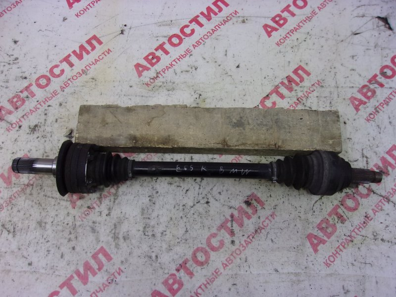 Привод Bmw 7-Series E65 N62B36A 2003 задний правый